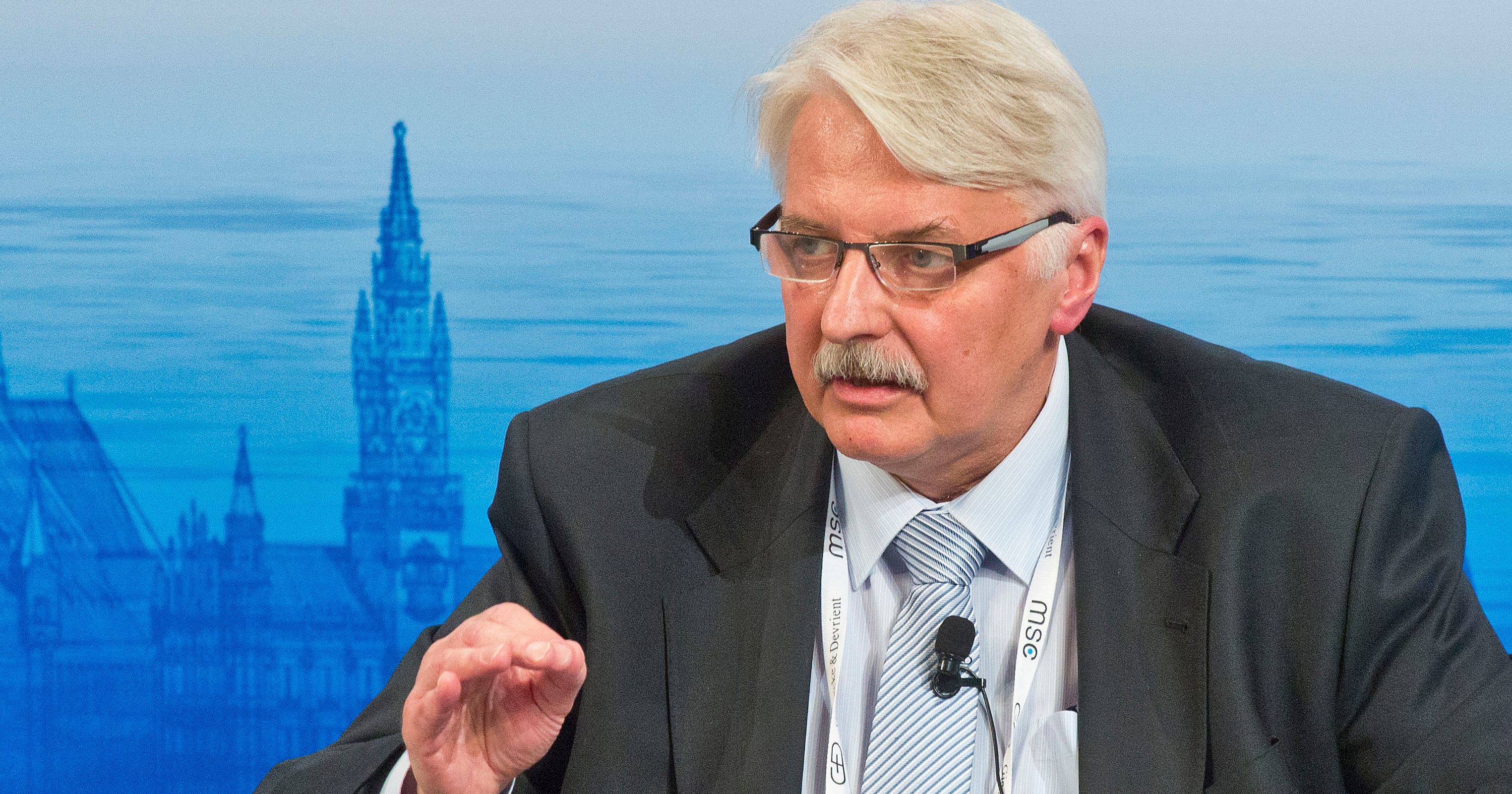 Witold Waszczykowski: Putin jest przewidywalny aż do bólu – UE nie jest